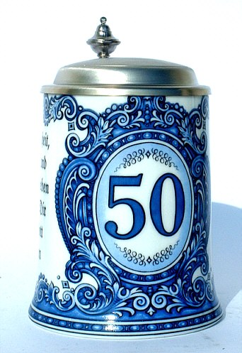 Happy 50th Anniversary beer